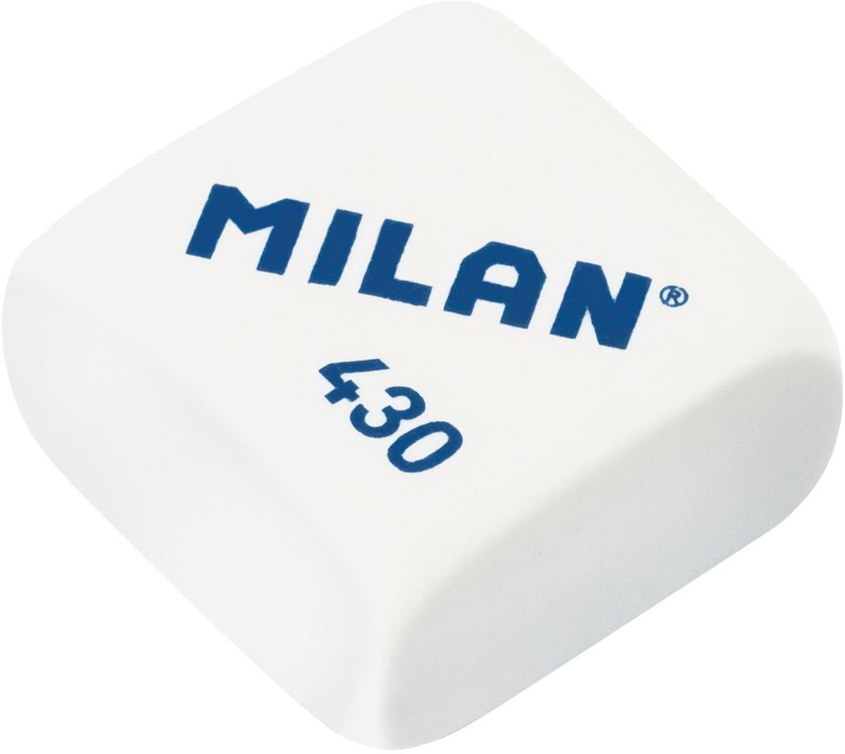 Milan Ластик 430 цвет белый72523WDКачественный мягкий ластик Milan предназначен для работы с мягкими карандашами. Имеет классическую квадратную форму.