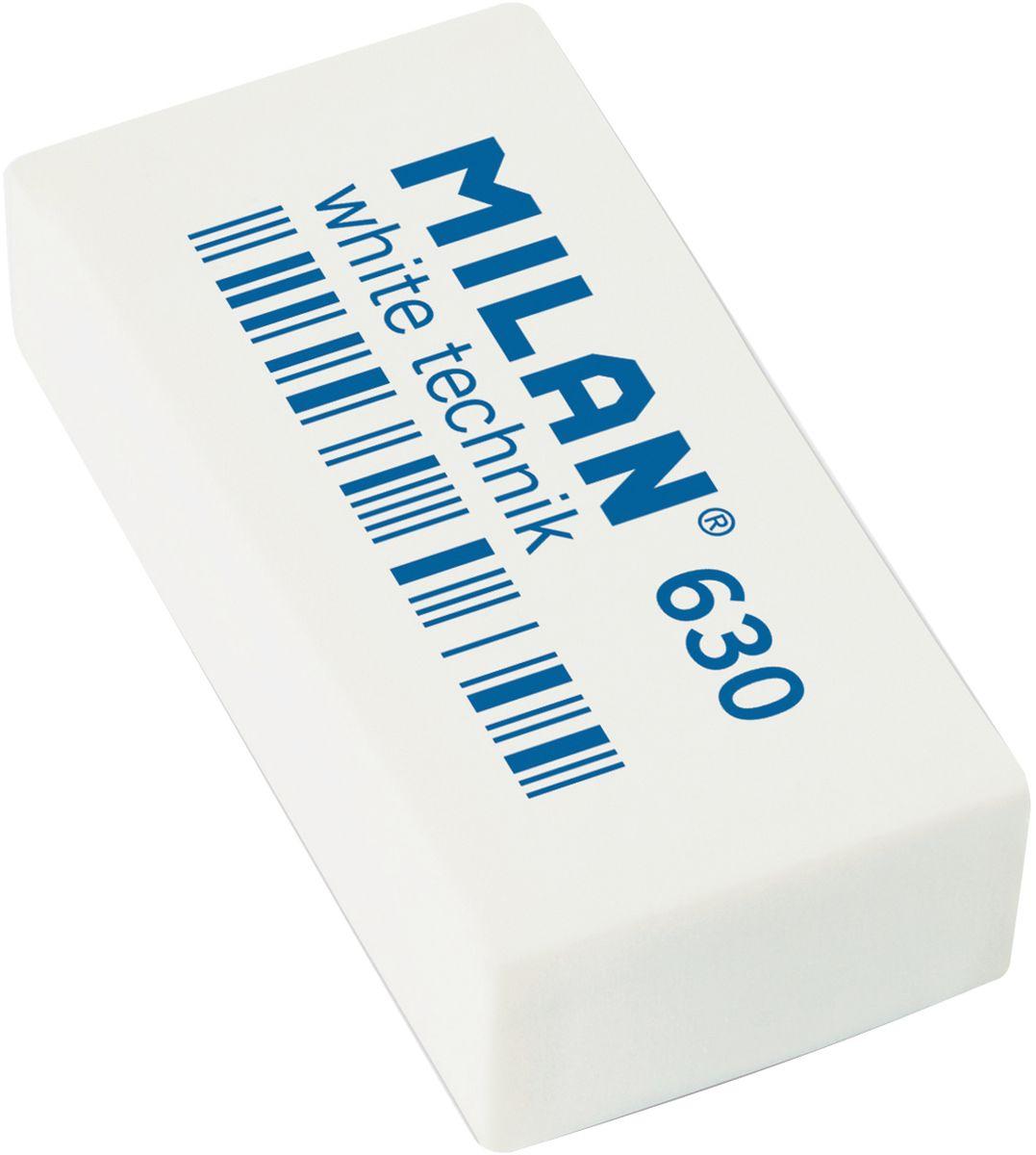 Milan Ластик White Technic 630 прямоугольный611639Ластик Milan White Technic 630 - это прекрасный синтетический ластик для цветных и чернографитных карандашей.