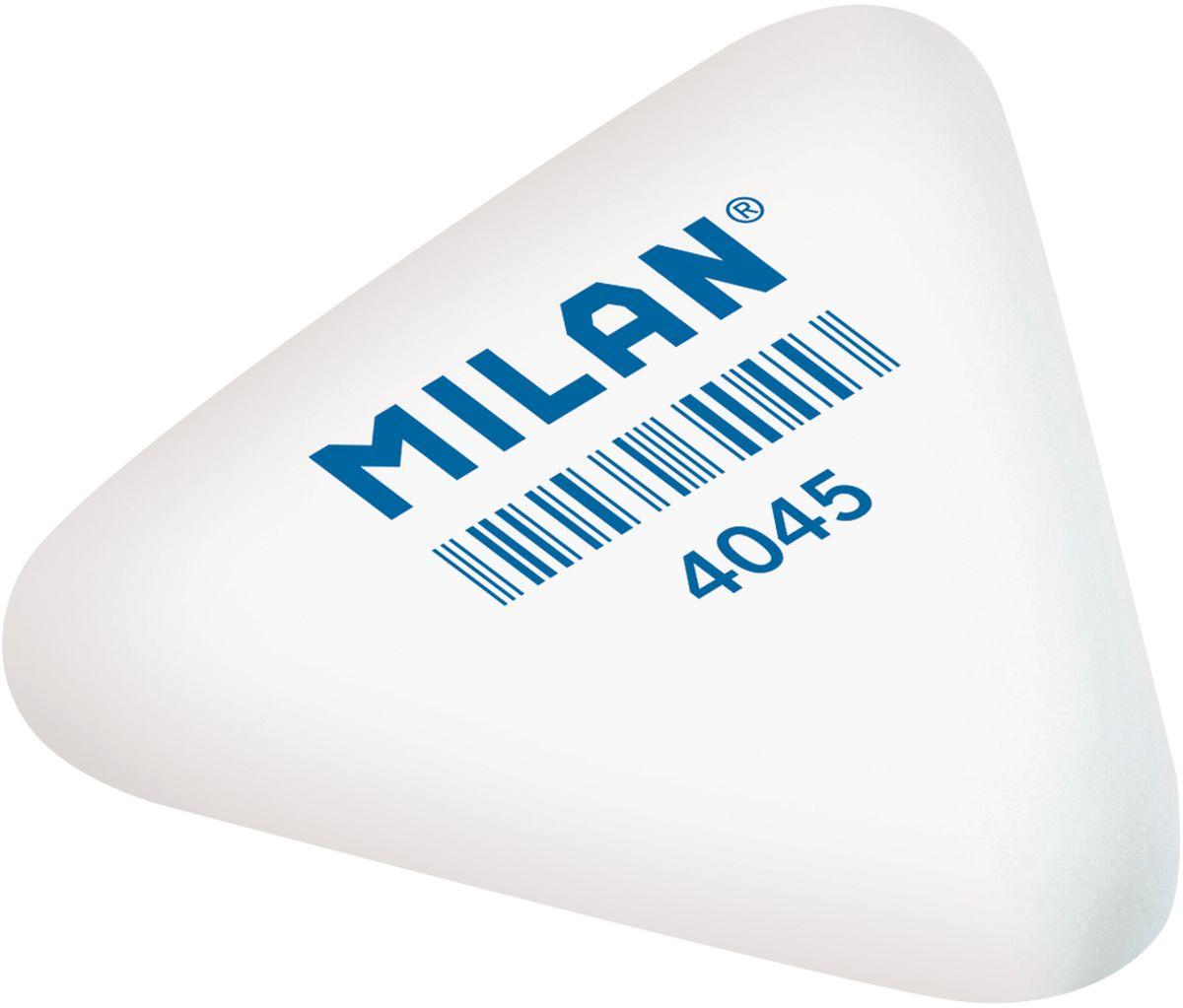 Milan Ластик 4045 треугольный72523WDМягкий синтетический каучуковый ластик треугольной формы. Подходит для удаления штрихов от большинства графитовых карандашей на всех видах поверхностей.