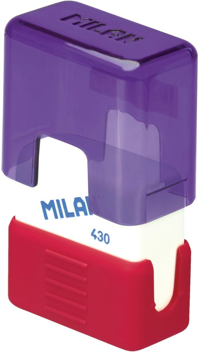Milan Ластик School 430 прямоугольныйCMMS430Ластик Milan School 430 подходит для удаления штрихов от большинства графитовых карандашей на всех видах поверхностей. Ластик изготовлен из мягкого синтетического каучука. С пластиковым держателем в эргономичном компактном корпусе.