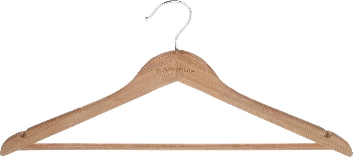 Вешалка универсальная Attribute Hanger Bamboo, цвет: светло-коричневый, длина 45 см10503Универсальная вешалка для одежды Attribute Hanger Bamboo выполнена из бамбука и оснащена перекладиной.Вешалка - это незаменимая вещь для того, чтобы ваша одежда всегда оставалась в хорошем состоянии. Длина вешалки: 45 см.