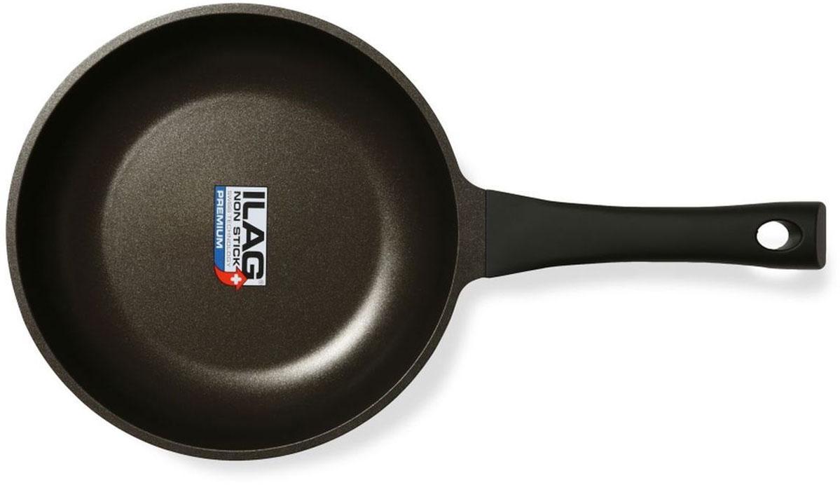 Сковорода Dosh l Home PERSEUS. Диаметр 24 см200151Прочная литая алюминиевая (алюминий стандарта EN601) сковорода для приготовления пищи на плите, с отличным трехслойным швейцарским антипригарным покрытием (ILAG premium). Дно из нержавеющей стали по всей поверхности; подходит для всех типов плит, включая индукционные плиты. Бакелитовая ручка сковороды (выдерживает 150 °С) с черным покрытием soft touch. Сковорода имеет диаметр 24см, высота стенки 5 см, толщина стенки 1,7 мм+ -5%, дно 6мм + -5%. Можно мыть в посудомоечной машине.