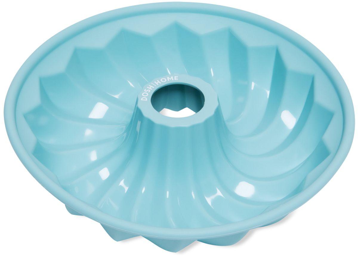Форма для выпечки кекса Dosh l Home PAVO, круглая, силиконовая, диаметр 25 см94672Форма для выпечки кекса Dosh l Home PAVO отлично подходит для приготовления сладких и соленых блюд. Форма предотвращает пригорание, поэтому по окончании выпекания продукт легко вынимается из формы. Изготовлено из термостойкого силикона высокого качества. Выдерживает температуру до 230 °C. Форму легко чистить, она не занимает много места. Форма подходит для приготовления пищи в газовых, электрических и конвекторных печах, можно мыть в посудомоечной машине.Диаметр: 25 см.