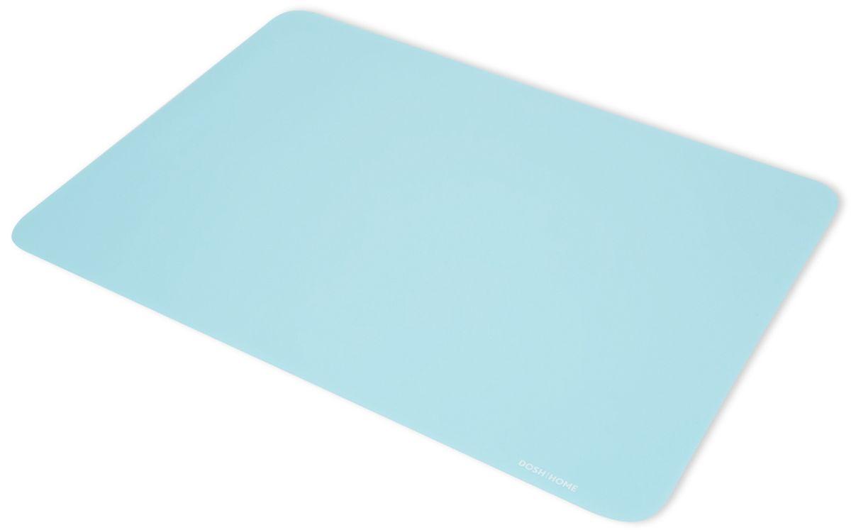 Лист для раскатки теста Dosh l Home PAVO, 40 x 30 см300257Отлично подходит для раскатки теста. Идеально ложится на поверхность стола, тесто к ней не прилипает, после использования можно скатать или свернуть. Легко моется и не впитывает запахи, гигиенична. На поверхность нанесена сетка для удобства отмеривания и отрезания раскатываемого теста. Жароупорна – можно использовать в качестве подставки под горячее.