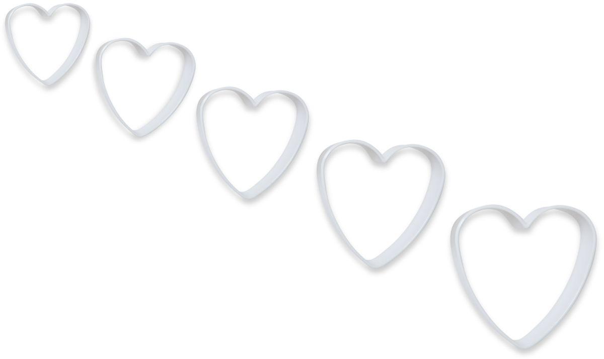 Формочки для вырезания печенья Dosh l Home PAVO, 5 шт. 300272300272Прекрасно подходят для легкого вырезания печенья 5 разных размеров из песочного, пряничного теста и теста для печенья. Изготовлены из высококачественного пластика.