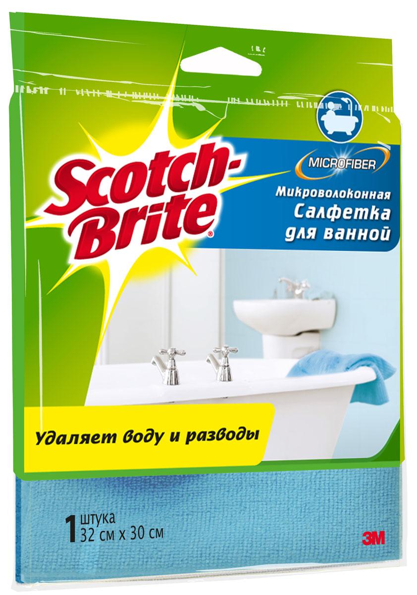 Салфетка микроволоконная Scotch-Brite, для уборки в ваннойXX004811798Микроволоконная салфетка Scotch-Brite идеально подходит для уборки в ванной комнате. Может применяться на разных поверхностях: эмалированных, керамических, хромированных. Салфетка прекрасно впитывает влагу и удаляет грязь, пыль, разводы. Допускается применение с моющими средставми. Преимущества: уникальный микроволоконный материал позволяет избавиться от грязи, пыли и разводов за считанные минуты благодаря плотной текстуре ткани салфетка отлично впитывает излишки воды мягкая и приятная на ощупь многократная стирка в стиральной машине. Характеристики: Материал: 81% полиэстер, 19 нейлон. Изготовитель: Корея. Артикул: XX004811798.