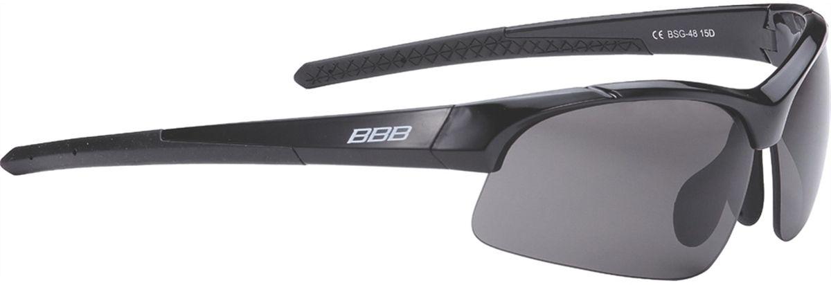 Очки солнцезащитные BBB Impress Small PC Smoke Lenses, цвет: черныйBSG-48Специальная версия очков для людей с меньшим размером головы. Спортивные очки современного стиля в легкой оправе. Сменные поликарбонатные линзы. Форма линз обеспечивает защиту от солнца, пыли и ветра. 100% защита от ультрафиолета. Поликарбонатная оправа с регулируемой переносицей. Мешочек для хранения в комплекте. Дополнительные линзы в комплекте: желтая и прозрачная.