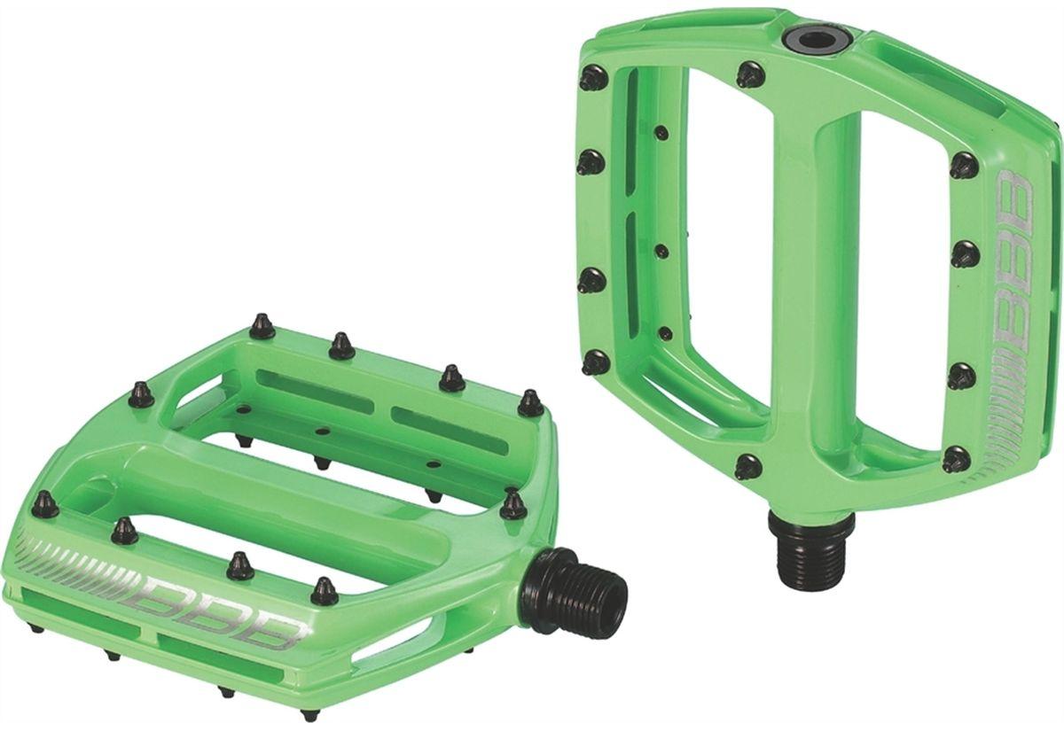 """Педали BBB """"CoolRide MTB"""", цвет: зеленый, 2 шт BPD-36"""