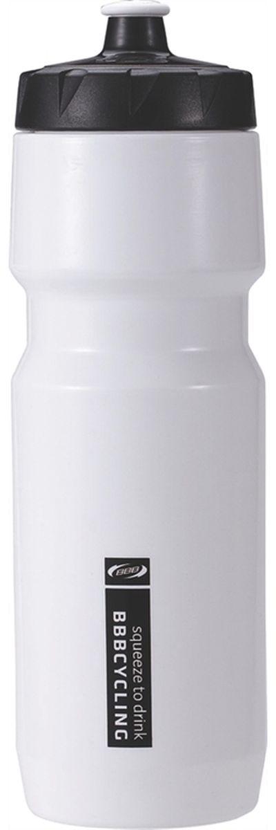 Бутылка для воды BBB CompTank, велосипедная, цвет: белый, черный, 750 млCRL-1Бутылка для воды BBB CompTank изготовлена из высококачественного полипропилена, безопасного для здоровья. Закручивающаяся крышка с герметичным клапаном для питья обеспечивает защиту от проливания. Оптимальный объем бутылки позволяет взять небольшую порцию напитка. Она легко помещается в сумке или рюкзаке и всегда будет под рукой. Такая идеальная бутылка небольшого размера, но отличной вместимости наполняет оптимизмом, даря заряд позитива и хорошего настроения. Бутылка для воды BBB - отличное решение для прогулки, пикника, автомобильной поездки, занятий спортом и фитнесом.