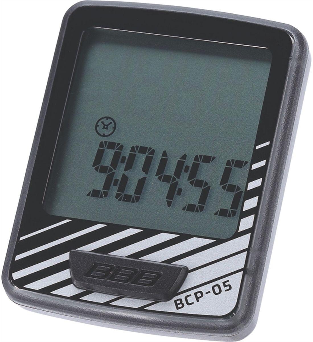 """Велокомпьютер BBB """"DashBoard"""", 7 функций, цвет: черный, серый BCP-05"""
