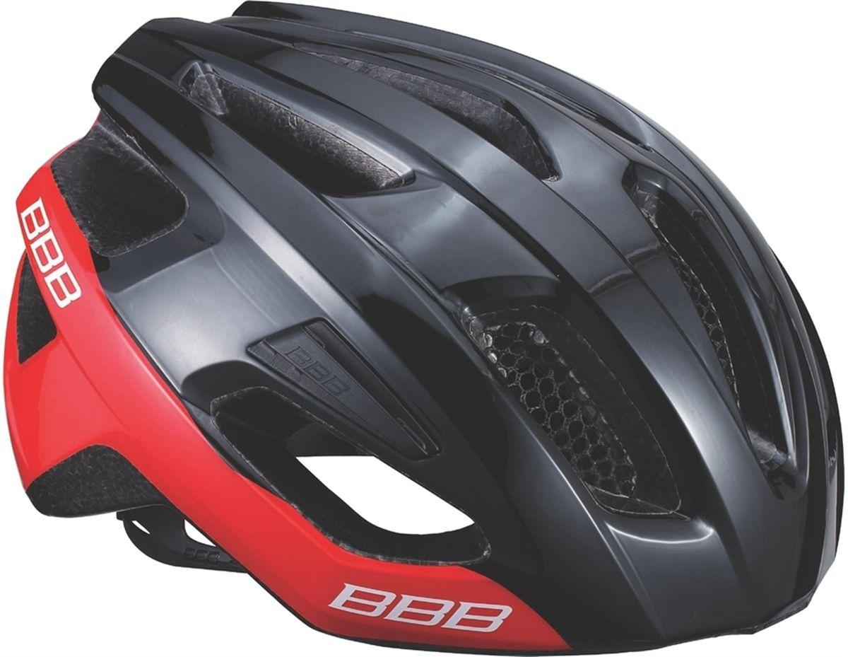 """Шлем летний BBB """"Kite"""", цвет: черный, красный. Размер L BHE-29"""