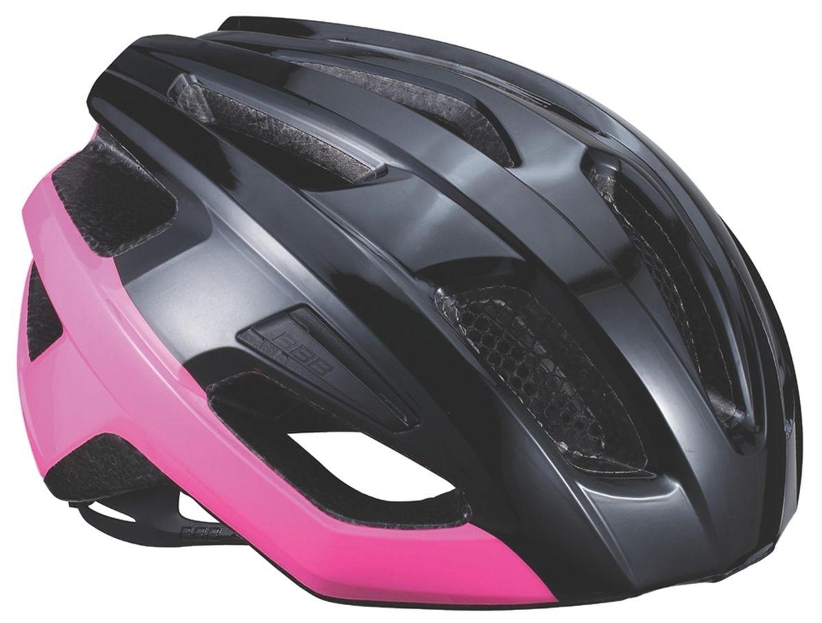 Шлем летний BBB Kite, цвет: черный, розовый. Размер MASE-609 р.LЕсли вы в поисках по-настоящему универсального шлема, то BBB Kite - именно то, что нужно. Продуманная конструкция предельно функциональна. Катаетесь ли вы по шоссе, или по трейлам - с BBB Kite вы всегда в безопасности. Низкопрофильная конструкция обеспечивает дополнительную защиту наиболее уязвимых участков головы. Поликарбонатная оболочка обеспечивает наилучшую защиту. Интегрированная конструкция.14 вентиляционных отверстий.Отверстия для вентиляции в задней части шлема для оптимального распределения потоков воздуха.Сетка для защиты от залетающих в шлем насекомых.Настраиваемые ремешки для максимально комфортной посадки.Простая в использовании система настройки TwistClose.Съёмный козырёк со скрытым креплением.Съемные мягкие накладки с антибактериальными свойствами и возможностью стирки.Светоотражающие наклейки на задней части шлема.Обхват головы: 55-58 см.
