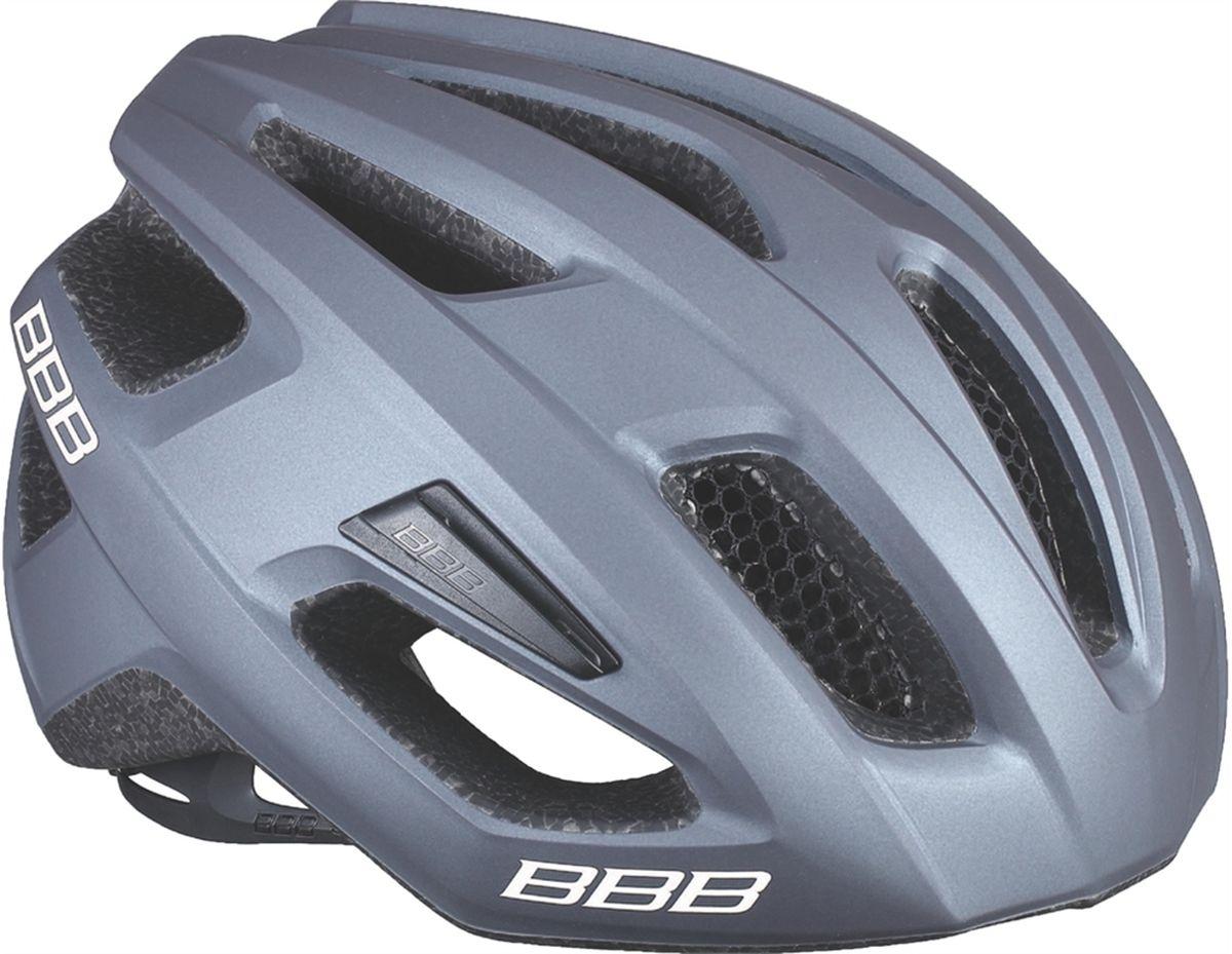 Шлем летний BBB Kite, цвет: серый, черный. Размер MSF 0085Если вы в поисках по-настоящему универсального шлема, то BBB Kite - именно то, что нужно. Продуманная конструкция предельно функциональна. Катаетесь ли вы по шоссе, или по трейлам - с BBB Kite вы всегда в безопасности. Низкопрофильная конструкция обеспечивает дополнительную защиту наиболее уязвимых участков головы. Поликарбонатная оболочка обеспечивает наилучшую защиту. Интегрированная конструкция.14 вентиляционных отверстий.Отверстия для вентиляции в задней части шлема для оптимального распределения потоков воздуха.Сетка для защиты от залетающих в шлем насекомых.Настраиваемые ремешки для максимально комфортной посадки.Простая в использовании система настройки TwistClose.Съёмный козырёк со скрытым креплением.Съемные мягкие накладки с антибактериальными свойствами и возможностью стирки.Светоотражающие наклейки на задней части шлема.Обхват головы: 55-58 см.