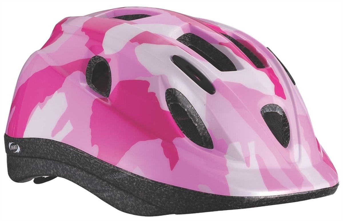 Шлем летний BBB Boogy, цвет: розовый камуфляж. Размер SBHE-37Интегрированная конструкция. 12 вентиляционных отверстий. Отверстия для вентиляции в задней части шлема для оптимального распределения потоков воздуха. Защитная сетка от насекомых в вентиляционных отверстиях. Настраиваемые ремешки для максимально комфортной посадки. Простая в использовании система настройки TwistClose, можно настроить шлем одной рукой. Съемные мягкие накладки с антибактериальными свойствами и возможностью стирки. Светоотражающие наклейки на задней части шлема. Размеры: S (48-54 см) и M (52-56 см).