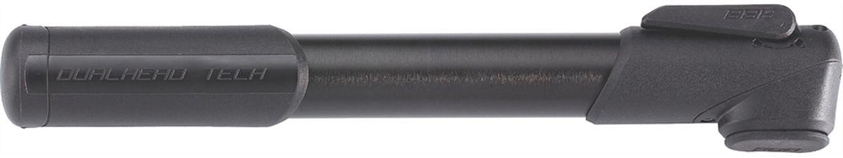 Насос велосипедный BBB WindRush S, цвет: черный, 250 ммBMP-55Легкий корпус из алюминия 6063 T6. Металлический плунжер обеспечивает быстрое накачивание большого объема воздуха. Насадка DualHead с фиксатором под большой палец. Т-образная рукоятка. Колпачок предохраняет ниппели от загрязнения. Подходит для ниппелей Presta, Schrader и Dunlop. Давление до 7bar/100psi. Длина: 250 мм. Вес: 121гр. Цвет: чёрный, синий, красный и зелёный.