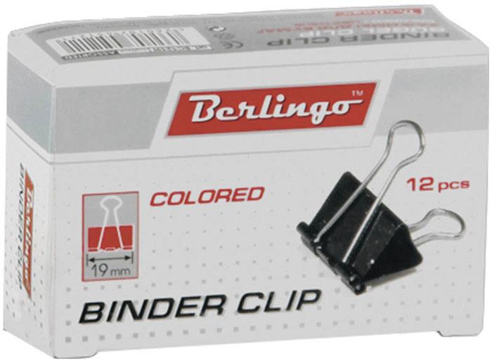 Berlingo Зажим для бумаг ширина 19 мм 12 штBC1219fЗажим для бумагBerlingo предназначен для скрепления бумажных носителей. Зажим выполнен из стали. В упаковке 12 зажимов разных цветов. Они надежно и легко скрепляют, не деформируют бумагу, не оставляют на ней следов.
