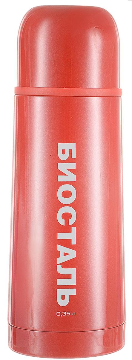 Термос Biostal Flёr, цвет: красный, 350 мл202-1200 синийТермос с узким горлом Biostal Flёr, изготовленный из высококачественной нержавеющей стали 18/8, покрыт износостойким лаком. Такой термос прост в использовании, экономичен и многофункционален. Термос предназначен для хранения горячих и холодных напитков (чая, кофе) и укомплектован пробкой с кнопкой. Такая пробка удобна в использовании и позволяет, не отвинчивая ее, наливать напитки после простого нажатия. Изделие также оснащено крышкой-чашкой. Легкий и прочный термос Biostal Flёr сохранит ваши напитки горячими или холодными надолго. Высота термоса (с учетом крышки): 19,5 см.Диаметр горлышка: 4,3 см.
