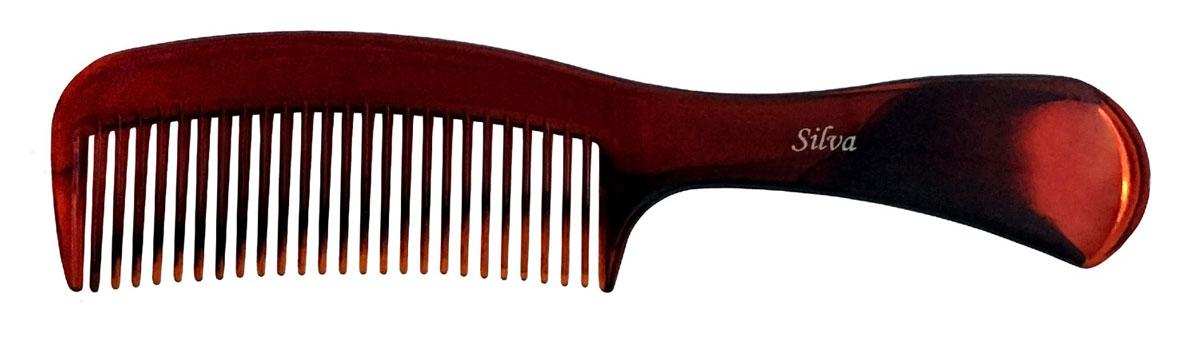 Silva Расческа для волос малая, цвет: черный