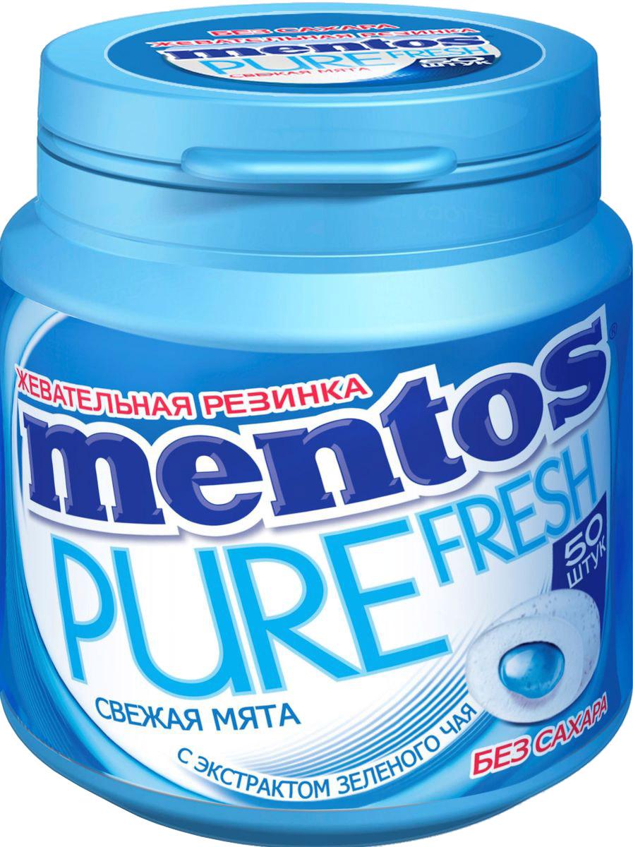 Mentos Pure Fresh Mint жевательная резинка, 100 г