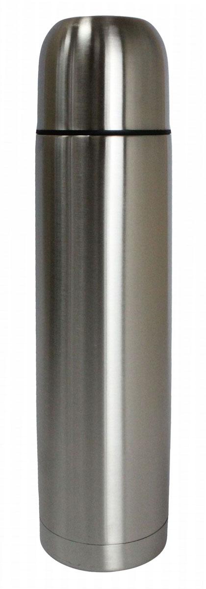 Термос Vetta Булет, 750 мл115510ТермосVetta Булет, изготовленный из высококачественной нержавеющей стали, прост в использовании и многофункционален. Изделие имеет двойные стенки, что позволяет содержимому долго оставаться горячим или холодным. В комплект входит удобная сумка для переноски термоса.Термос сохраняет температуру горячих или холодных продуктов до 24 часов.