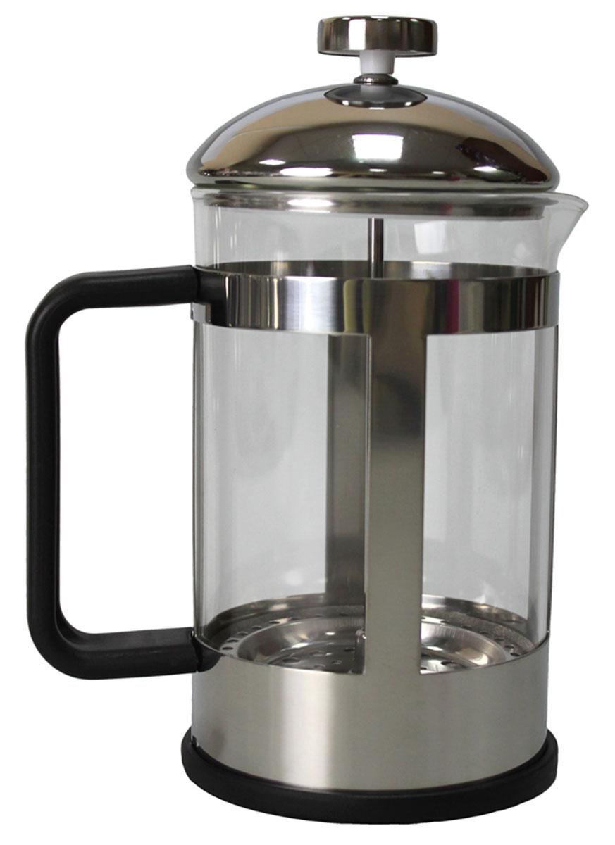 Френч-пресс Vetta Аделина, 800 мл850055Френч-пресс Vetta Аделина 800 мл изготовлен из нержавеющей стали и жаропрочного стекла. Фильтр из нержавеющей стали. Френч-пресс позволит быстро и просто приготовить свежий и ароматный кофе или чай.
