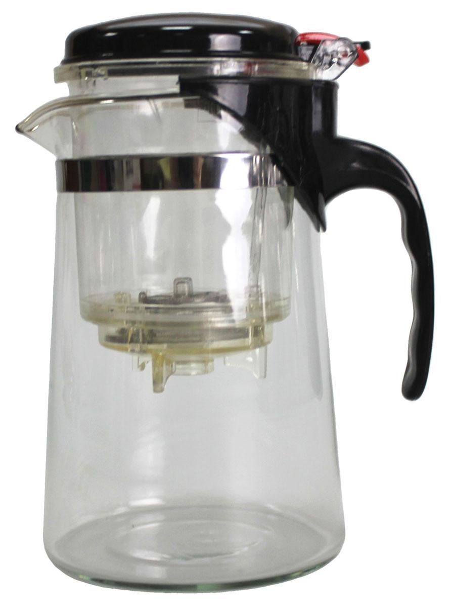 Френч-пресс N/N, 750 мл850119Френч-пресс 750 мл изготовлен из пластика и жаропрочного стекла. Фильтр из нержавеющей стали. Френч-пресс позволит быстро и просто приготовить свежий и ароматный кофе или чай.