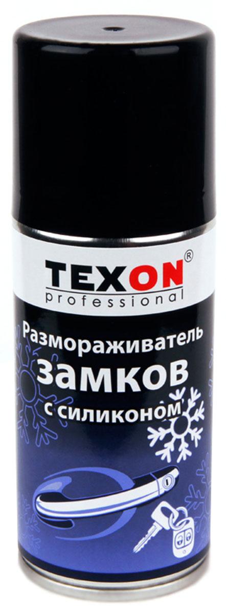 Размораживатель замков и стекол TEXON, с силиконом, 210 мл