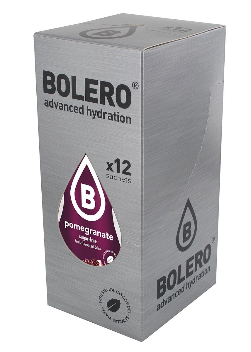 "Напиток быстрорастворимый Bolero ""Pomegranate / Гранат"", 9 г х 12 шт ЦБ-00003137"