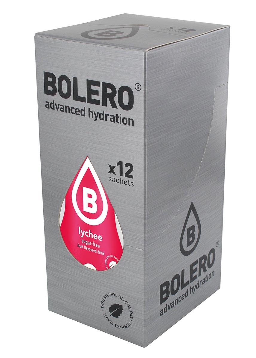 Напиток быстрорастворимый Bolero Lychee / Личи, 9 г х 12 штGESS-306Что же такое Bolero Drinks?В первую очередь это - вкусовая добавка без сахара, без глютена, без жиров и углеводов.Bolero Drinks – это мгновенные напитки, которые не содержат сахар, не содержат лактозы, не содержат консервантов, не содержат глютен, не содержат искусственных вкусовых и цветообразующих добавок!!!!!!! Каждый пакетик Bolero Drinks на Стивии весит 9 г, и его достаточно, чтобы подготовить 1,5-2 литра сока, в зависимости от вашего желания. Эти маленькие пакетики очень удобно носить с собой, и подготовка натурального напитка проста - просто добавьте в 1,5-2 литра холодной воды и размешайте. Но Bolero Drinks – это не только напитки. Это великолепное дополнение к каше, творогу и другим субстанциям. Состав: Без добавления ГМО. Не содержит Глютен, без сахара. Кислоты: лимонная кислота, яблочная кислота, мальтодекстрин; ароматические и вкусовые вещества; L-аскорбиновая кислота. Натуральные ароматизаторы и подсластители: ацесульфам К, сукралоза,стевиогликозиды (экстракты стевии), регулятор кислотности: тринатрийцитрат. Разрыхлитель: трикальцийфосфат; Загустители: гуаровая камедь, гуммиарабик (аравийская камедь).