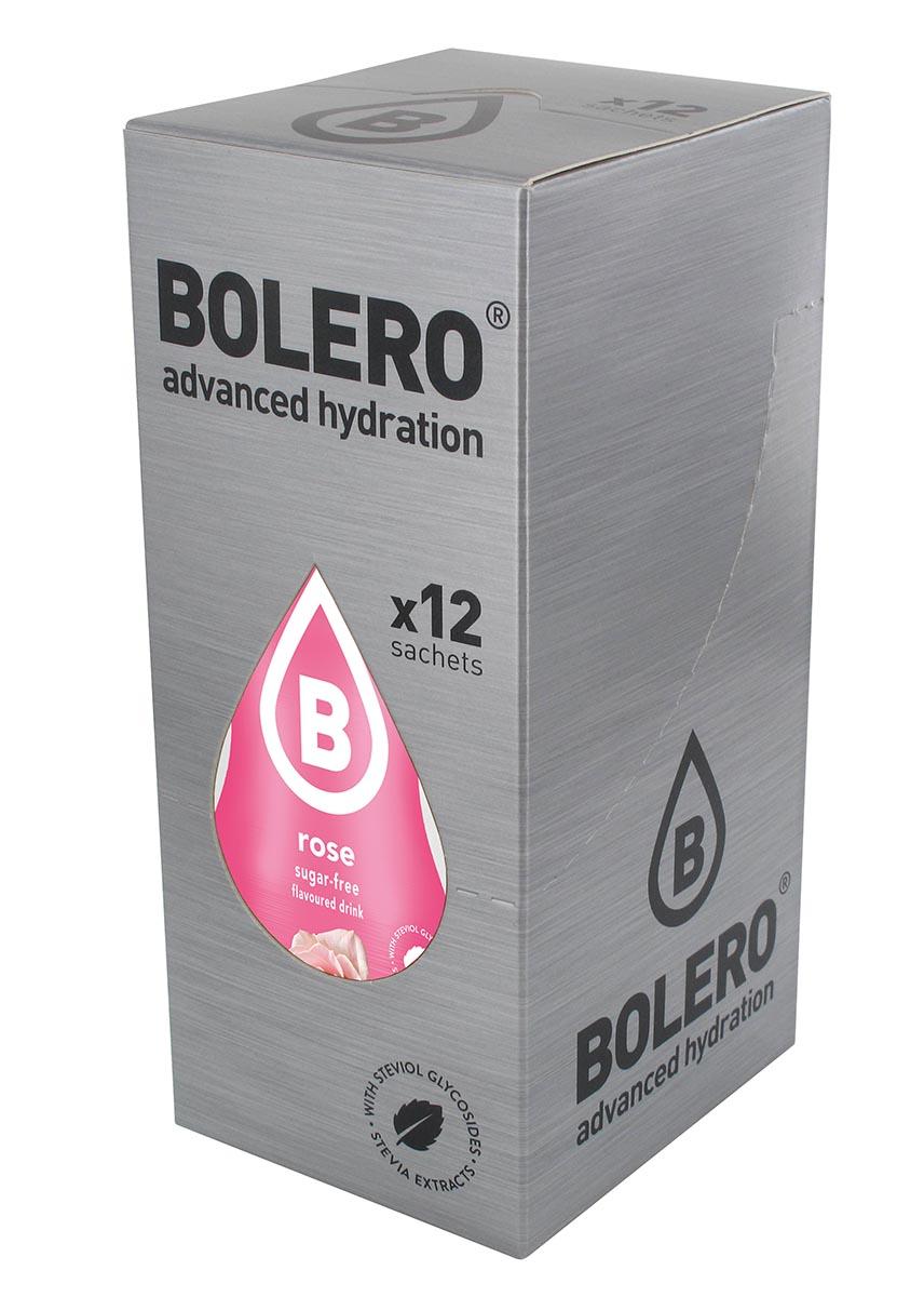 """Напиток быстрорастворимый Bolero """"Rose / Вкус розы"""", 9 г х 12 шт ЦБ-00003665"""