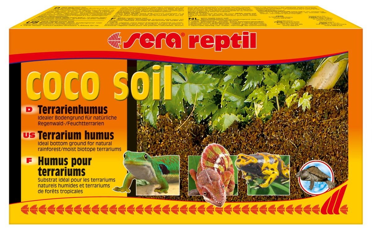 Грунт для террариума Sera Reptil Coco Soil, 8 л0120710Грунт для террариума Sera Reptil Coco Soil из кокосового волокна предназначен для влажных террариумов. Добывается на кокосовых плантациях природного происхождения, без удобрений и добавок. Подвергается термической стерилизации, свободен от патогенных микроорганизмов и грибов. Идеально подходит для поддержания влажности в террариуме. Упаковка содержит 8 литров грунта.