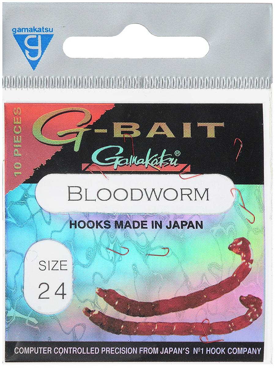 Крючок рыболовный Gamakatsu G-Bait. Bloodworm, №24, 10 штG-Bait № 24Крючок Gamakatsu G-Bait. Bloodworm - это крючок с лопаткой, удлиненным цевьем и острым изгибом. Выполненные из высококачественной стали, крючки на 20% надежнее и мощнее по сравнению с большинством аналогов. Такой крючок идеален для мотыля. Размер крючка: №24. Вид крепления: лопатка. Количество штук в упаковке: 10 штук.