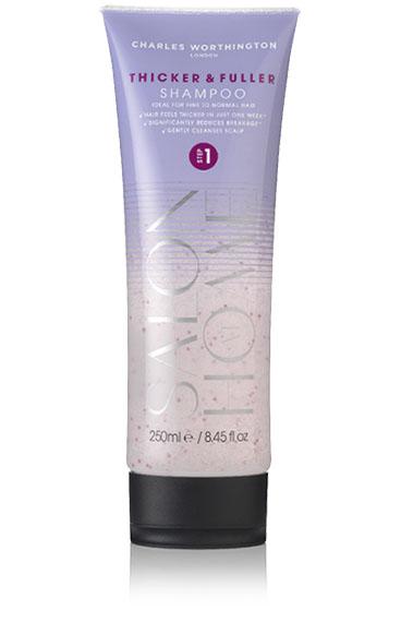 Charles Worthington Шампунь для волос Плотные и густые, 250 млFS-00103Шампунь делает тонкие волосы более плотными всего за одну неделю. Обогащенный капсулированным витамином Е он заботится о коже головы, улучшает состояние волос и уменьшает их ломкость. Волосы становятся более густыми, мягкими, послушными и здоровыми. Благодаря специальной технологии FragranceLock ™, шампунь придает волосам стойкий приятный аромат, которым Вы будете наслаждаться в течение всего дня