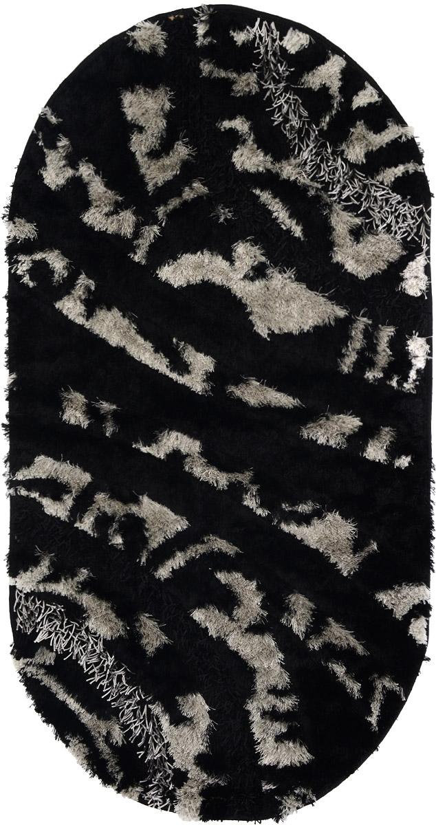 Ковер ART Carpets Арт Фешен, овальный, 80 х 150 смS03301004Ковер ART Carpets Арт Фешен прекрасно подойдет для любого интерьера. Изделие изготовлено из 50% полиэстера, 30% микрофибры и 20% букле. За счет прочного ворса ковер легко чистить. При надлежащем уходе синтетический ковер прослужит долго, не утратив ни яркости узора, ни блеска ворса, ни упругости. Самый простой способ избавить изделие от грязи - пропылесосить его с обеих сторон (лицевой и изнаночной). Влажная уборка с применением шампуней и моющих средств не противопоказана. Хранить рекомендуется в свернутом рулоном виде.