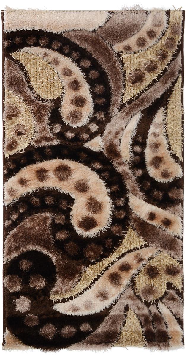Ковер ART Carpets Art Fashion, прямоугольный, цвет: коричневый, бежевый, 80 х 150 см203420130212182978Ковер ART Carpets Art Fashion прекрасно подойдет для любого интерьера. Изделие изготовлено из полиэстера 50%, микрофибры 30% и букле 20%. За счет прочного ворса ковер легко чистить. При надлежащем уходе синтетический ковер прослужит долго, не утратив ни яркости узора, ни блеска ворса, ни упругости. Самый простой способ избавить изделие от грязи - пропылесосить его с обеих сторон (лицевой и изнаночной). Влажная уборка с применением шампуней и моющих средств не противопоказана. Хранить рекомендуется в свернутом рулоном виде.