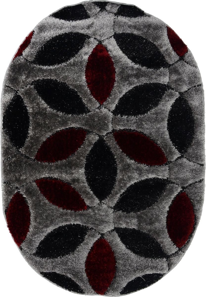 Ковер Mutas Carpet А.Коттон Фешен, овальный, 120 х 180 см. 0470B92013021211340707745-501Ковер Mutas Carpet А.Коттон Фешен изготовлен из высококачественных материалов. Структура волокна гладкая, поэтому грязь не будет въедаться и скапливаться на ворсе. Практичный и износоустойчивый ворс не истирается и не накапливает статическое электричество. Ковер обладает хорошими показателями теплостойкости и шумоизоляции. Оригинальный рисунок позволит гармонично оформить интерьер комнаты, гостиной или прихожей. За счет невысокого ворса ковер легко чистить. Самый простой способ избавить изделие от грязи - пропылесосить его с обеих сторон (лицевой и изнаночной). Хранить рекомендуется в свернутом рулоном виде.