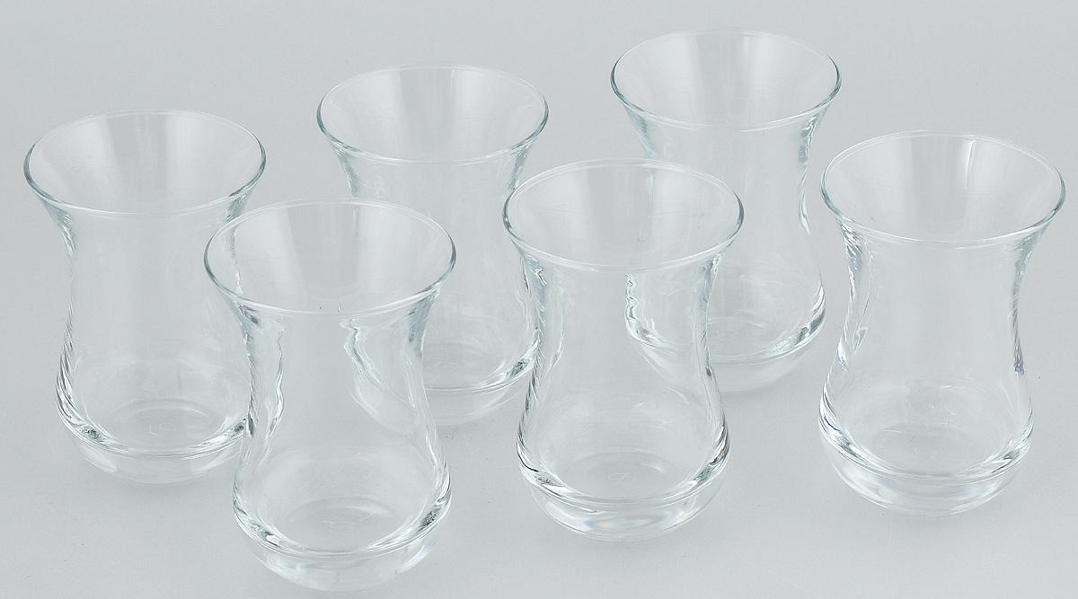 Набор стаканов Pasabahce Tea & Coffee, 140 мл, 6 штVT-1520(SR)Набор Pasabahce состоит из шести стаканов, выполненных из натрий-кальций-силикатного стекла. Изделия предназначены для подачи сока, воды, компота и другихнапитков. Такие стаканы станут идеальным украшением праздничного стола и отличным подарком к любомупразднику.