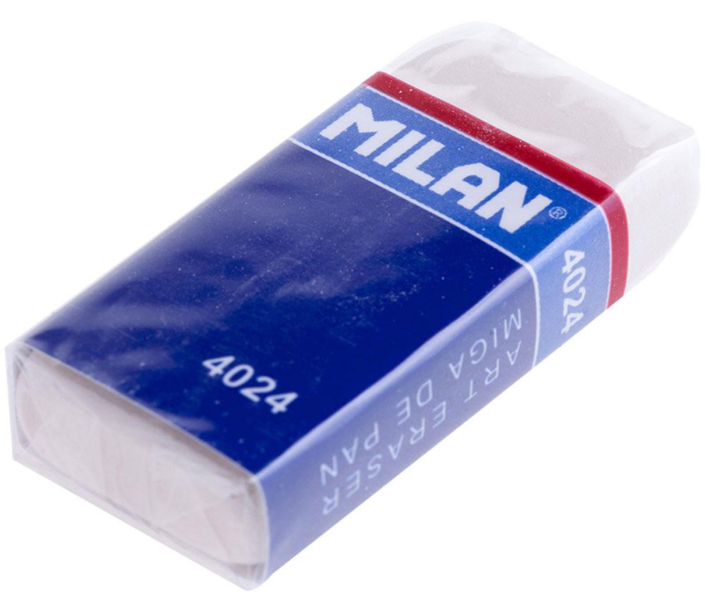 Milan Ластик 4024CNM4024Ластик Milan нового поколения с высокоэффективным пластификатором. Ластик обеспечивает качественное стирание и не повреждает бумагу.