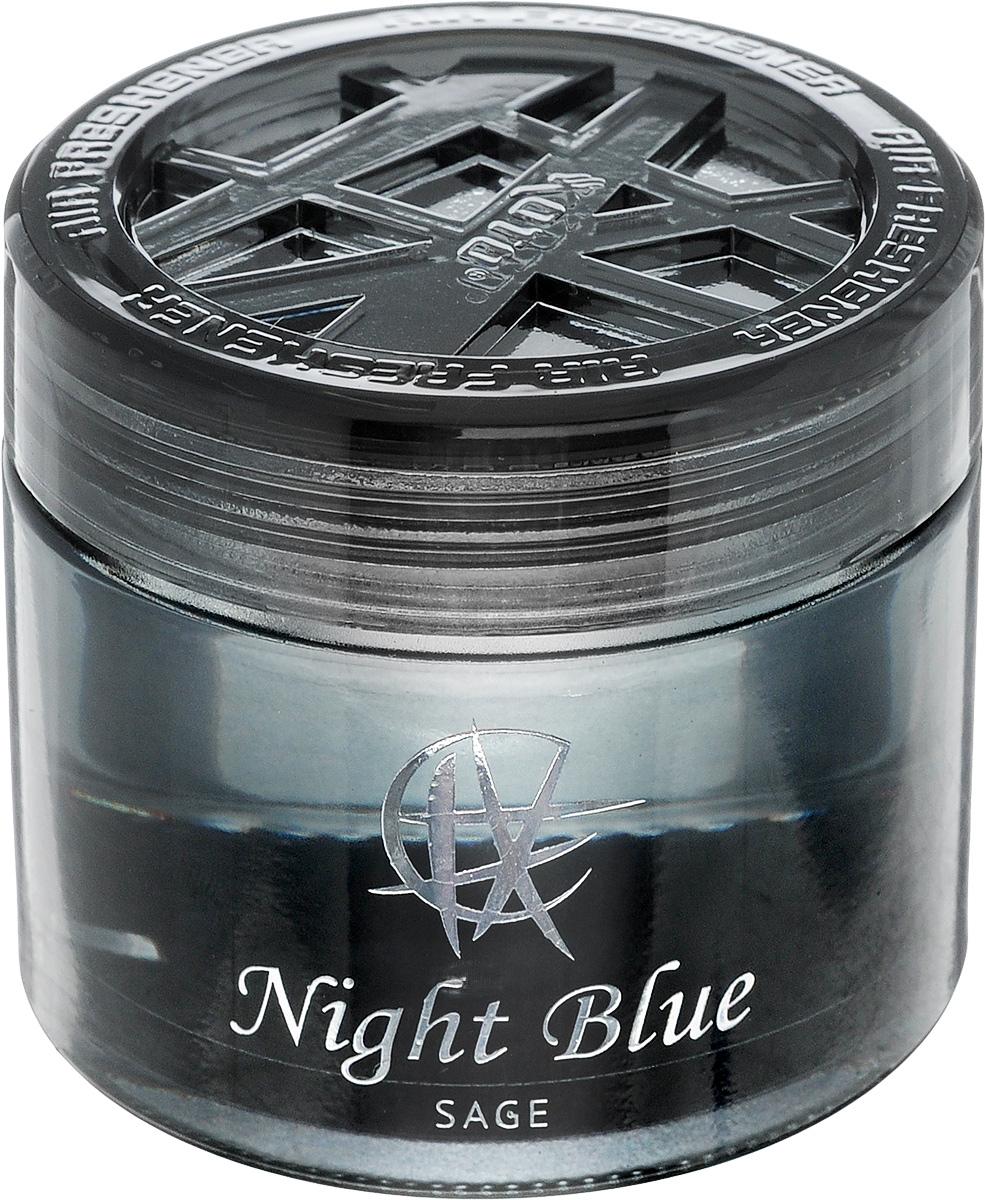 Ароматизатор автомобильный Koto Night Blue. Sage, гелевый, 65 млFPG-141Автомобильный ароматизатор Koto Night Blue. Sage эффективно устраняет неприятные запахи и придает приятный аромат шалфея. Сочетание геля с парфюмами наилучшего качества обеспечивает устойчивый запах. Кроме того, ароматизатор обладает элегантным дизайном. Изделие можно разместить на горизонтальной поверхности, используя двухстороннюю наклейку.