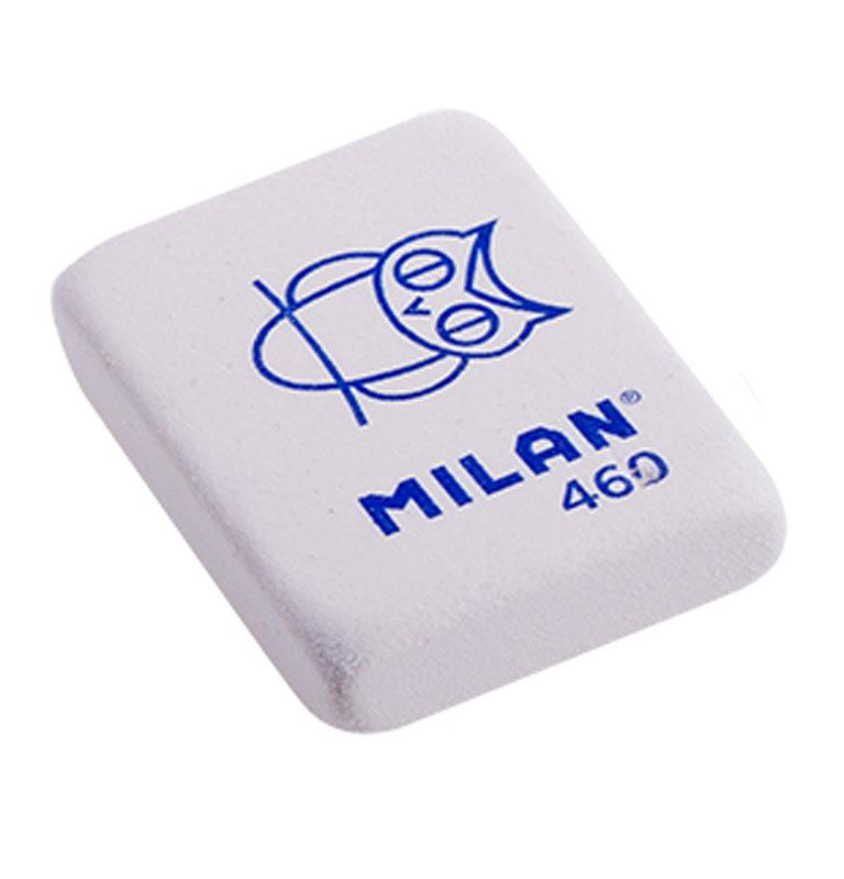 Milan Ластик 460 цвет белый72523WDЛастик Milan с плотной структурой для эффективного стирания карандашей различной твердости. Ластик обеспечивает высокое качество коррекции и не повреждает поверхность бумаги.