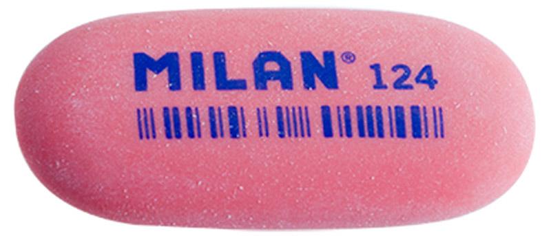 Milan Ластик 124 цвет красныйCMM124_красныйЛастик Milan овальной формы для точного стирания. Полумягкая текстура.