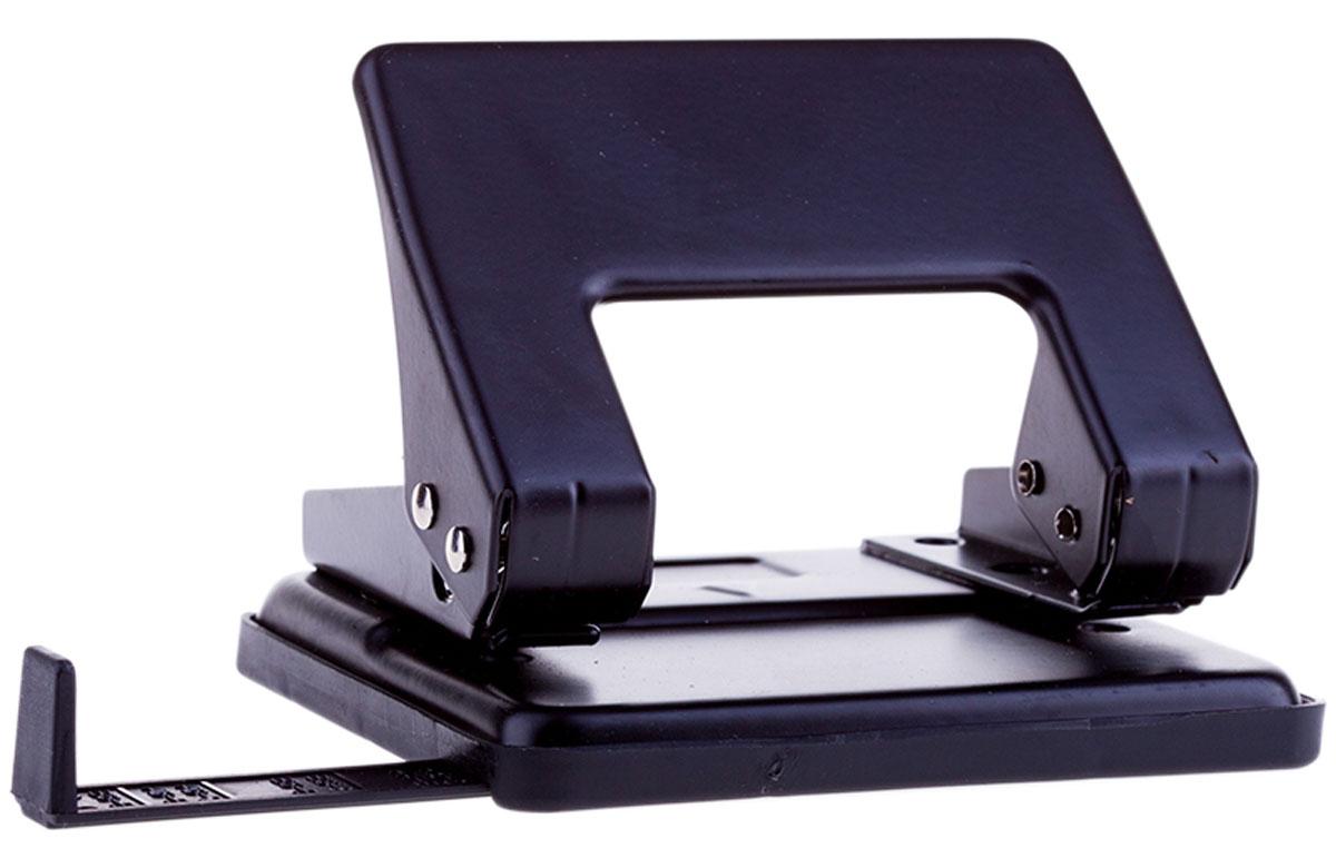 OfficeSpace Дырокол с линейкой на 20 листов цвет черный P204_1865BKP204_1865BKДырокол OfficeSpace - это незаменимый офисный инструмент для перфорации бумаги и картона. Дырокол с металлическим нескользящим основанием предназначен для одновременной перфорации до 20 листов бумаги. Диаметр отверстия - 6 мм. Для удобства дырокол оснащен выдвижной линейкой с разметкой для документов различных форматов, а также имеет съемный резервуар для обрезков бумаги, встроенный в основание.