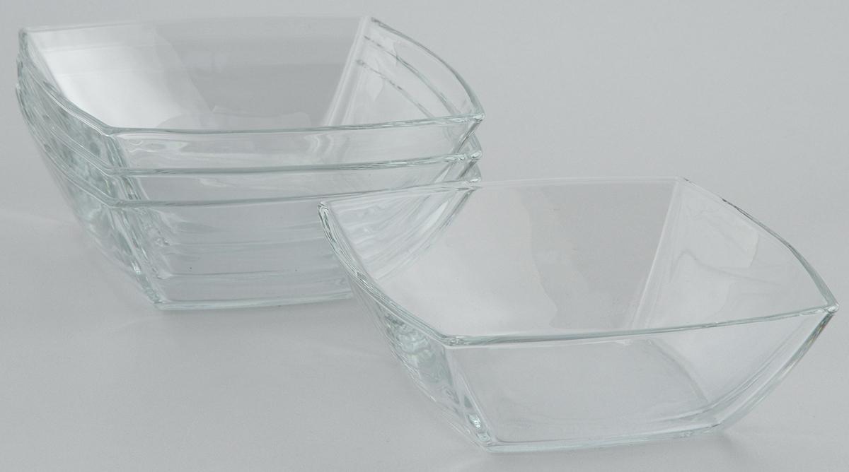 Набор салатников Pasabahce Tokio, 16 х 16 см, 4 шт53066B/4Набор Pasabahce Tokio состоит из 4 квадратных салатников, выполненных из высококачественного натрий-кальций-силикатного стекла. Такие салатники прекрасно подойдут для сервировки стола и станут достойным оформлением для ваших любимых блюд. Высокое качество и функциональность набора позволят ему стать достойным дополнением к вашему кухонному инвентарю. Размер салатника салатника: 16 х 16 см. Высота салатника: 5,5 см.
