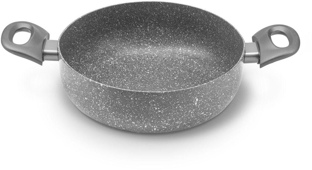 Сотейник MOULINvilla Кухня, с антипригарным покрытием. Диаметр 24 смGS-24-DSIСотейник MOULINvilla Кухня, изготовленный из литого алюминия, покрыт экологически чистым антипригарным покрытием, которое при приготовлении пищи позволяет равномерно прогревать поверхность, препятствует пригоранию продуктов и устойчиво к механическому повреждению. Удобные пластиковые ручки позволяют использовать сотейник, забыв о прихватке. Роскошный дизайн и изысканный цвет сотейника MOULINvilla отлично украсят кухню и подчеркнут вашу индивидуальность. Подходит для газовых, электрических, стеклокерамических плит и индукционных плит. Сотейник пригоден для мытья в посудомоечной машине, но без использования абразивных чистящих средств.