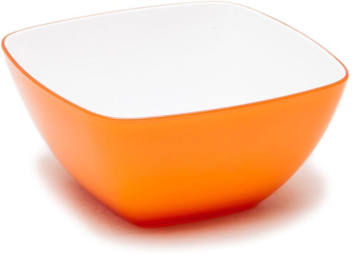 Миска MoulinVilla, цвет: оранжевый, 14 х 14 смL-14OМиска компании Moulinvilla изготовлена из высококачественного акрила. Благодаря оригинальному и привлекательному дизайну выполняет не только практичную, но и декоративную функцию. Белый цвет внутренней поверхности и сочный, интенсивный цвет снаружи отлично контрастируют. В ней можно сервировать салаты, фрукты, закуски, десерты, печенье, сладости и т.д. Состав: Акрил. Можно мыть в посудомоечной машине.