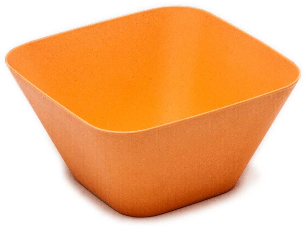 Тарелка глубокая MOULINvilla, цвет: оранжевый, 14,5 х 14,5 х 7,5 смTSF-02-OМиска глубокая MOULINvilla изготовлена из природного бамбука, очищенного от вредных примесей. Для окраски используются натуральные пищевые красители. Бамбук, сам по себе, является природным антисептиком. Эта уникальная особенность посуды гарантирует безопасность при эксплуатации и хранении различных видов пищевой продукции. Можно мыть в посудомоечной машине. Можно использовать в СВЧ печах на короткое время.