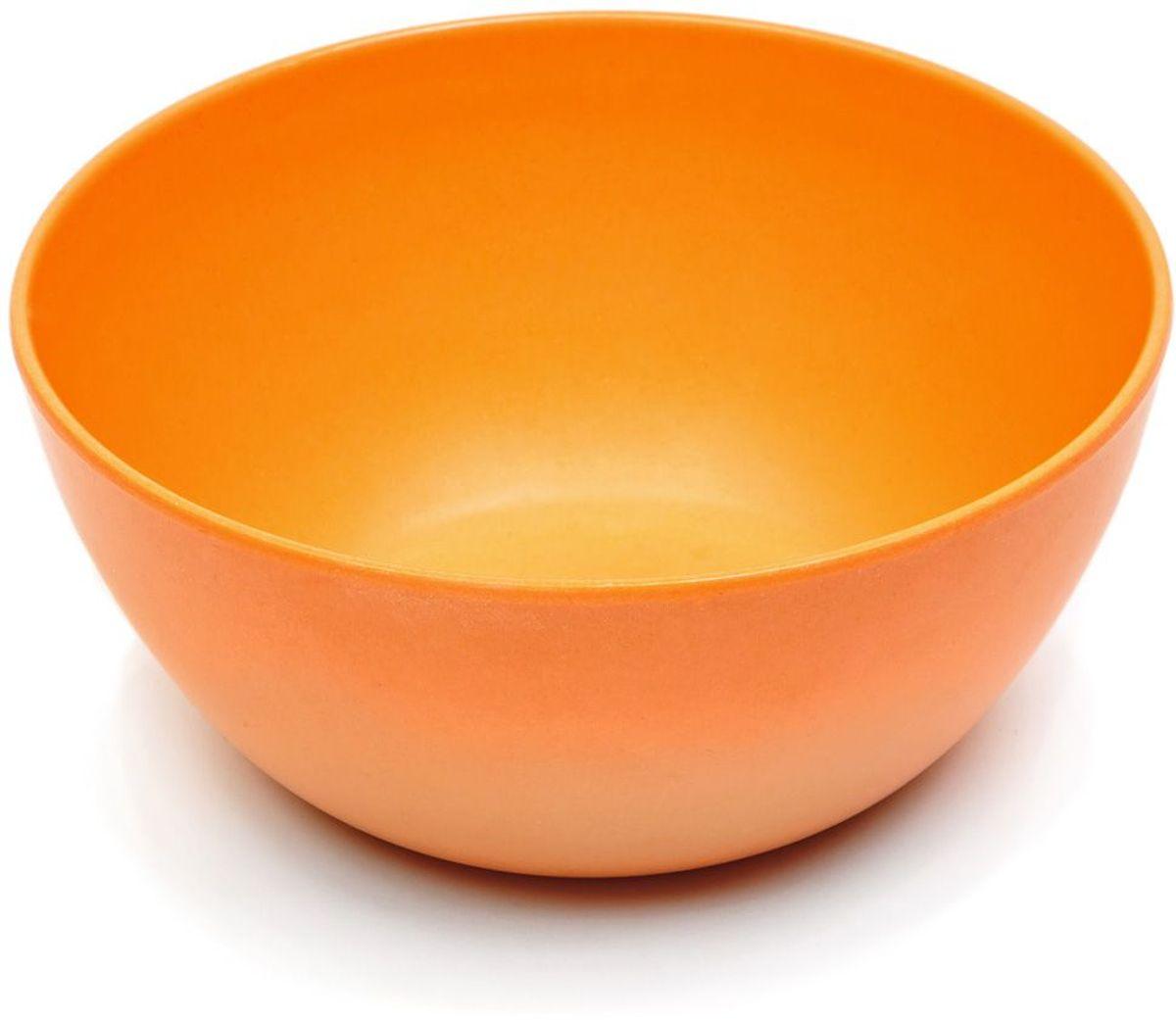 Тарелка глубокая MOULINvilla, цвет: оранжевый, диаметр 16 смTSF-22-OМиска глубокая MOULINvilla изготовлена из природного бамбука, очищенного от вредных примесей. Для окраски используются натуральные пищевые красители. Бамбук, сам по себе, является природным антисептиком. Эта уникальная особенность посуды гарантирует безопасность при эксплуатации и хранении различных видов пищевой продукции. Можно мыть в посудомоечной машине. Можно использовать в СВЧ печах на короткое время.