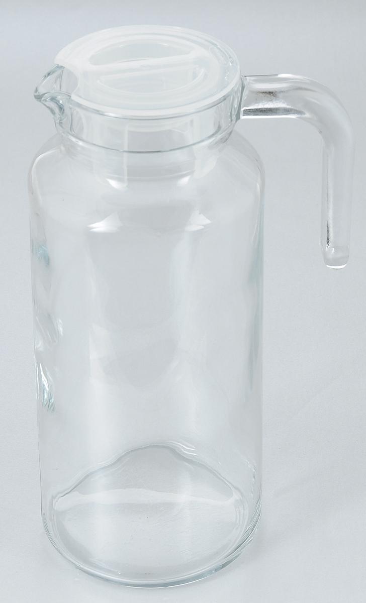 Кувшин Pasabahce Basic, с крышкой, 1,3 лVT-1520(SR)Кувшин Pasabahce Basic, выполненный из прочного стекла, элегантно украсит ваш стол. Он прекрасно подойдет для подачи воды, сока, компота и других напитков. Изделие оснащено ручкой, пластиковой крышкой и специальным носиком для удобного выливания жидкости. Совершенные формы и изящный дизайн, несомненно, придутся по душе любителям классического стиля. Кувшин Pasabahce Basic дополнит интерьер вашей кухни и станет замечательным подарком к любому празднику.Высота кувшина: 24 см.