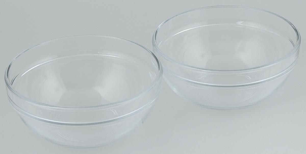 Набор салатников Pasabahce Chefs, диаметр 17,2 см, 2 шт115610Набор Pasabahce Chefs состоит из 2 салатников, выполненных из высококачественного натрий-кальций-силикатного стекла. Такие салатники прекрасно подойдут для сервировки стола и станут достойным оформлением для ваших любимых блюд. Высокое качество и функциональность набора позволят ему стать достойным дополнением к вашему кухонному инвентарю.Диаметр салатника: 17,2 см.Объем салатника: 1 л.