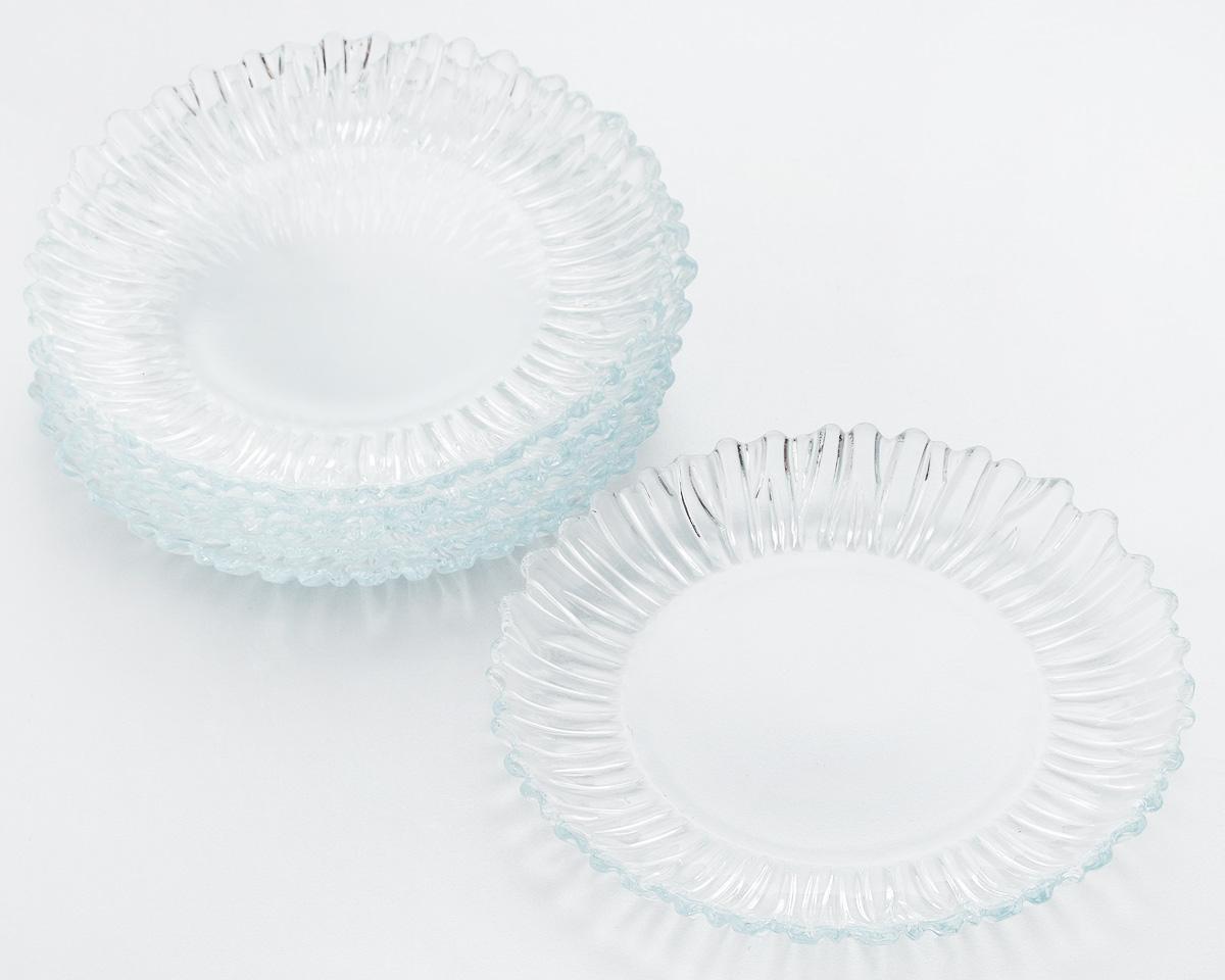 Набор десертных тарелок Pasabahce Aurora, диаметр 20,5 см, 6 шт10512BНабор Pasabahce Aurora состоит из 6 десертных тарелок, выполненных из высококачественного натрий-кальций-силикатного стекла. Изделия предназначены для красивой сервировки различных блюд. Набор сочетает в себе изысканный дизайн с максимальной функциональностью.